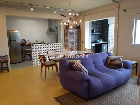 Apartamento Com 2 Dormitório À Venda, 69 M² Por R$ 600.000 - Cerâmica - São Caetano Do Sul/sp - Ap3540