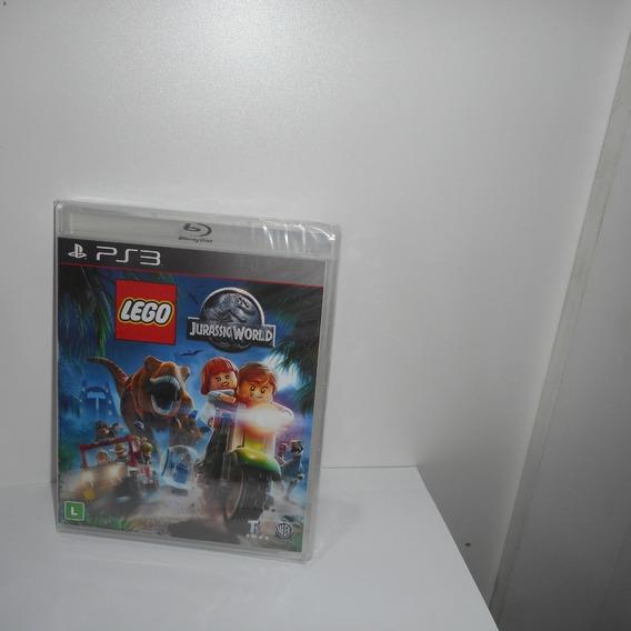 Lego Jurassic World Ps3 Mídia Física Novo Lacrado