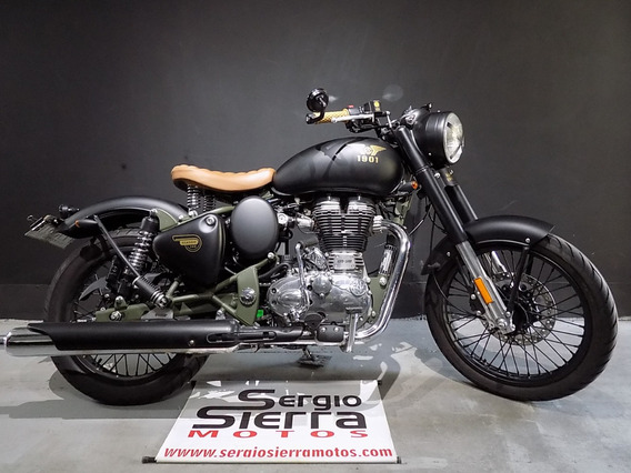 Royal Enfield Classic500 Abs Verde 2019