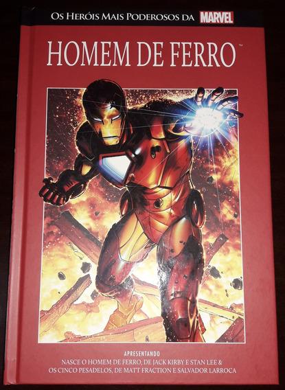 Livro Marvel Heroes Ed. 5 - Homem De Ferro