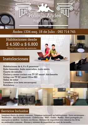 Residencia Estudiantil Palacio Andes Precios Promocionales