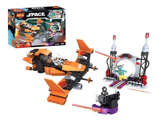 Cogo Construccion Coche Espacial 258 Piezas Comp Lego St