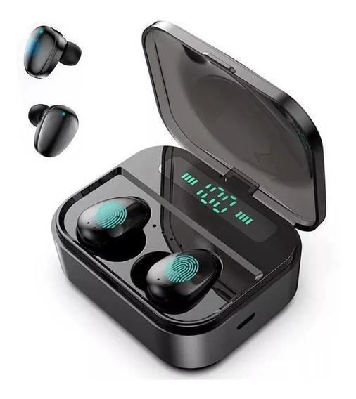 Fones De Ouvido Bluetooth 5.0 Tws Mãos-livres Banco De Poder