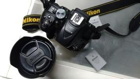 Nikon D5300+lente 18-105vr + Grip + 4baterias