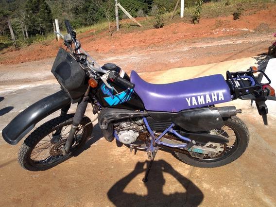 Yamaha Dt 200 Trail Ano 1992 Cor Preta E Roxa