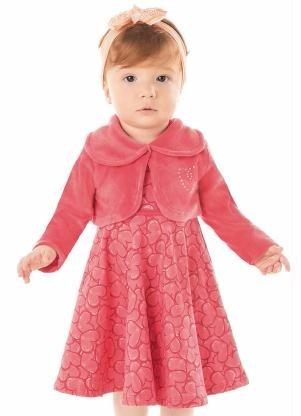 Vestido Infantil 1 2 3 P M G