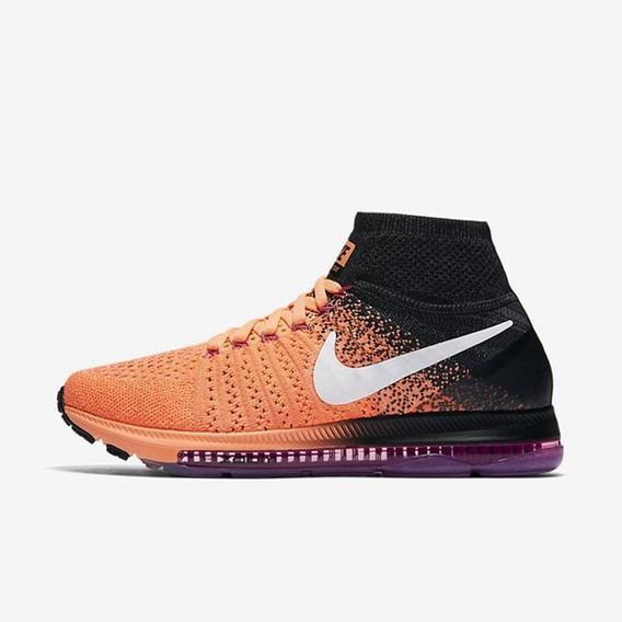 Nike Zoom All Out Flyknit Orange Números ¡¡¡oferta!!!