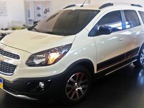 Chevrolet Spin Active 1.8 2017 Branco Gelo Flex