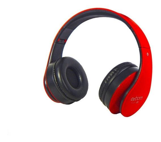 Fone Headset Hf-400bt Bluetooth Cartao Sd Exbom Multimidia