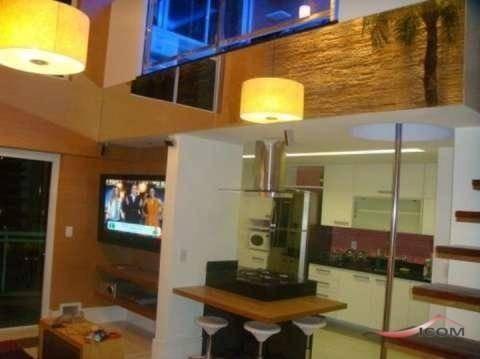 Loft Com 1 Dormitório À Venda, 68 M² Por R$ 650.000,00 - Barra Da Tijuca - Rio De Janeiro/rj - Lf0073