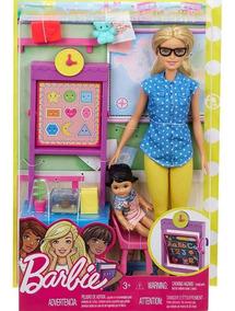 Barbie Profissões - Professora Loira - Fjb29 - Mattel