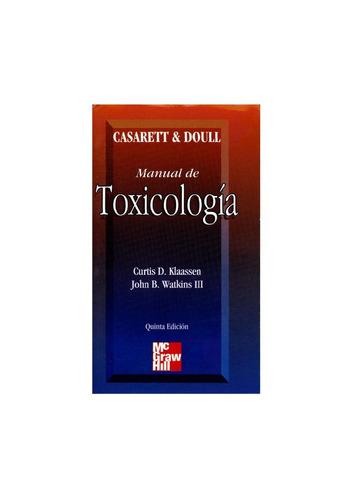 Manual De Toxicología - Casarett
