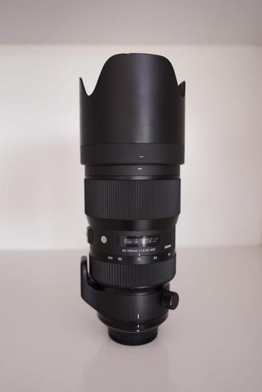 Lente Sigma 50-100mm F/1.8 Dc Hsm Art Para Nikon