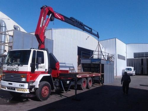 Ford Cargo 1722 Hidrogrua Barquilla Carreton Camion Balancin