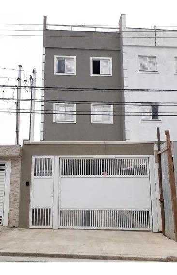 Cobertura À Venda, 82 M² Por R$ 250.000,00 - Vila Helena - Santo André/sp - Co0537