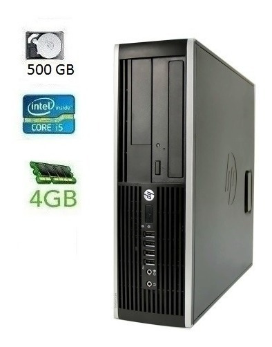 Cpu Desktop Hp Compaq Elite Core I5 500 Gb