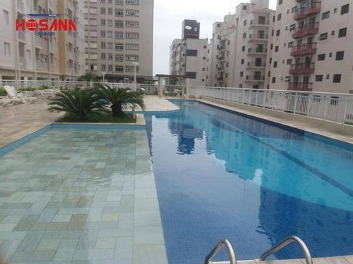 Imagem 1 de 30 de Apartamento Com 2 Dormitórios À Venda, 66 M² Por R$ 405.000,00 - Ocian - Praia Grande/sp - Ap0213