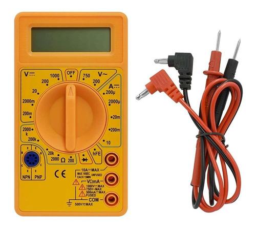 Multímetro Digital Tester Multifuncional Voltimetro