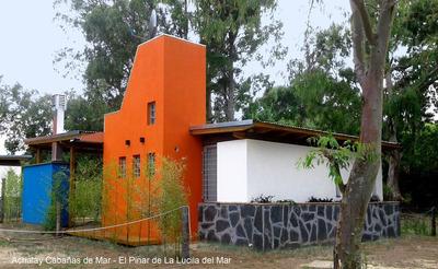 Casa En El Pinar De La Lucila Del Mar, Ideal Para 5 Personas