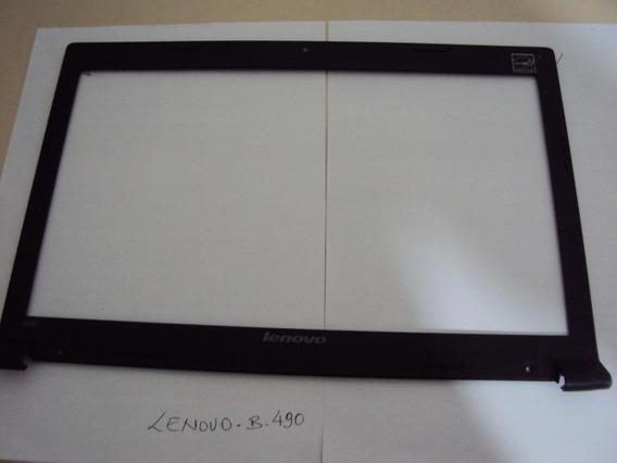 Moldura Da Tela Lcd Notebook Lenovo B490 - Usado
