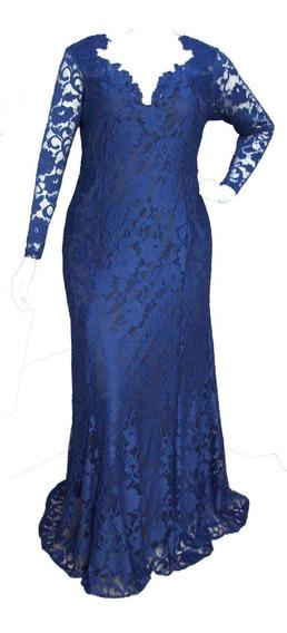 Vestido Festa -tamanho Grande - Capuccino - 44 Ao 54
