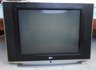 Tv Lg 29fs4rk Super Slim Usado, Con Control