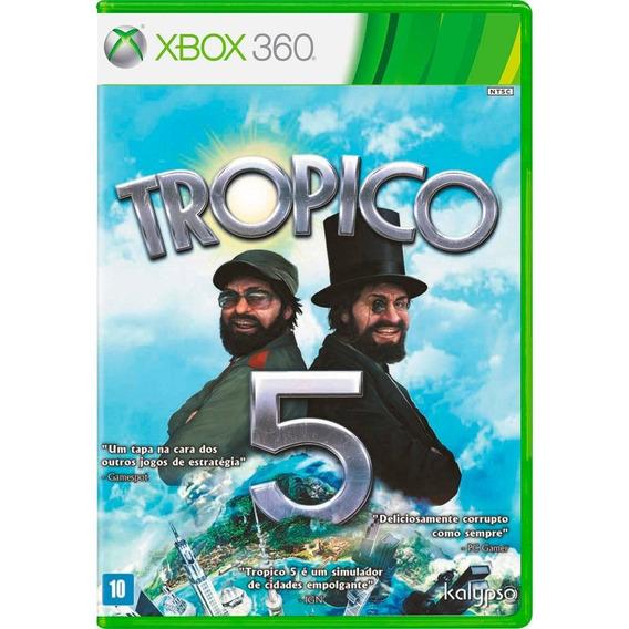 Tropico 5 Lacrado Jogo De Xbox 360
