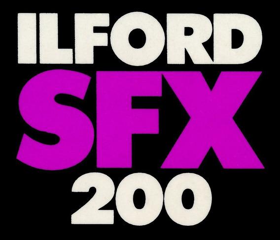 Filme Ilford Sfx 200 Infrared, Formato 120, 4 Unid Venc 2000