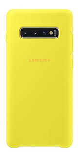 Capa Protetora Silicone S10+ - Amarela