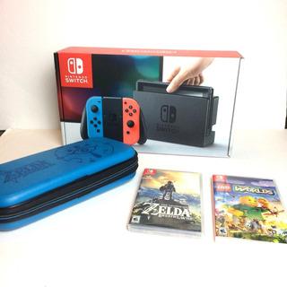 Consola Wifi De 32gb Nintendo Switch Neon Juegos