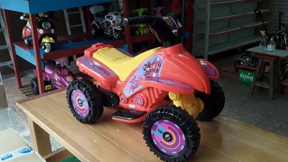 Moto Cuatriciclo A Bateria Infantil Lamborghini Dencar @ Mca