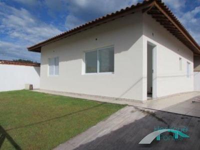 Casa Nova Isolada, 2 Dormitórios- Jardim Ribamar- Peruíbe - Sp - Ca00333 - 4572464