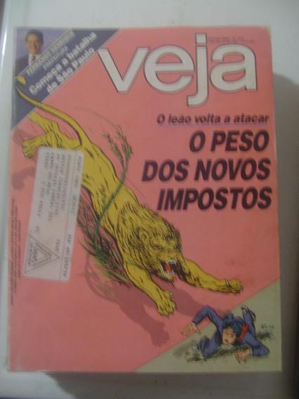 Revista Veja 878 Fhc Rita Lee São João Del-rei Tancredo 1985