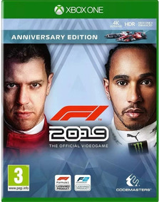 Formula 1 2019 F1 Xbox One Midia Fisica Lacrado Portugues