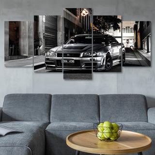 Quadro Decorativo Carro Nissan Skyline Gtr Quarto Hall Sala