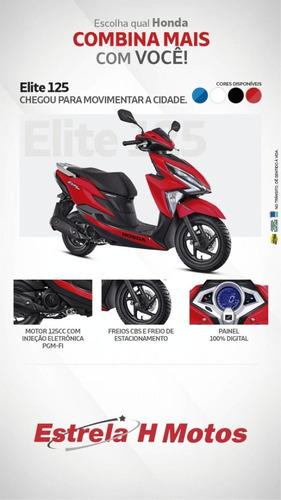 Consórcio Solução - Honda Elite 125