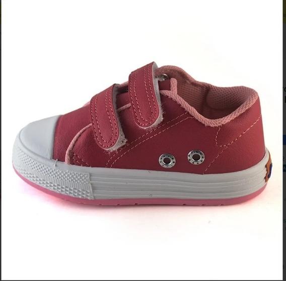 Zapatillas Abrojo Ecocuero Small Shoes Morado