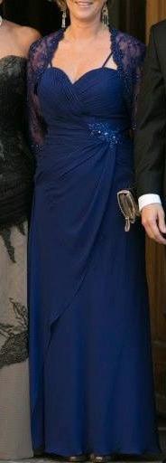 Vestido Fiesta Azul Rey Vestidos De Mujer En Mercado Libre