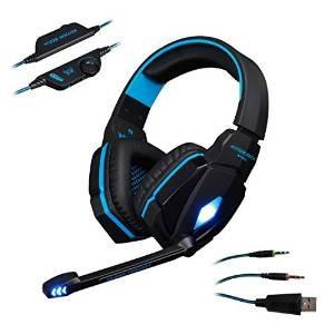 Kotion Cada G4000 Stereo 3.5mm Plug Gaming Headset Auricular