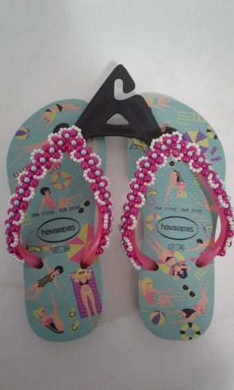 Sandália Havaianas Para Meninas Infantil