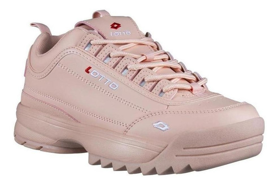 Tenis Mujer Lotto Color Maquillaje