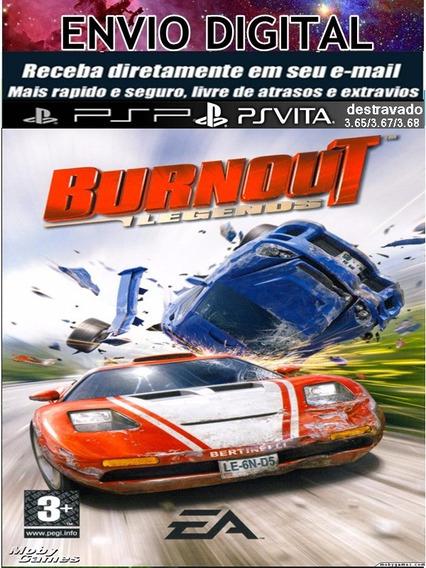Burnout Legends Psp E Psvita Destrave