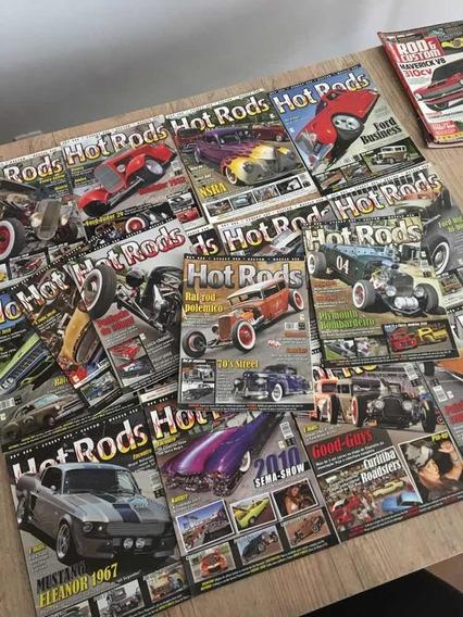 Coleção Revista Hot Rod Números 66 A 81 Rockabilly Marverick