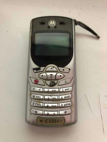 Motorola C350 I Casing Warna Sucata Ref: Cl130 P/aprov. Peça