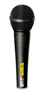 Microfono Dinamico Profesional Skp Pro20