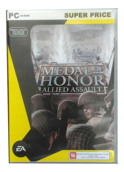 Jogo Para Pc - Medal Of Honor: Allied Assault - Super Price