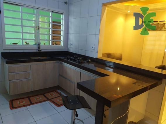 Casa Com 2 Dormitórios À Venda, 140 M² Por R$ 250.000 - Bandeira Branca - Jacareí/sp - Ca0143