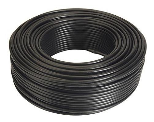 Cable Thw 90 450/750v 8 Awg Negro Rollo De 100 Metros