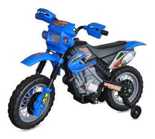 Moto Eléctrica Infantil Niños Gw -recargable+luces+sonid