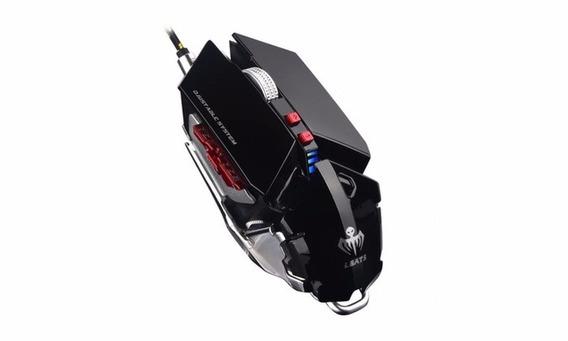 Mouse Lbats X9 Lightning Bats 4800dpi Profissional - Preto